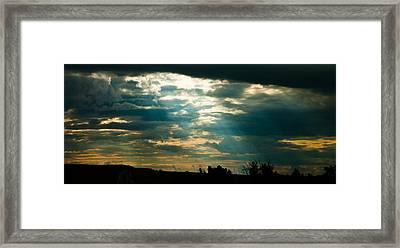 Drakensberg Evening Framed Print by Joe Houghton