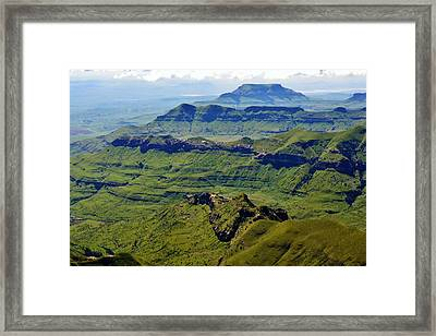Drakensberg Mountains Framed Print
