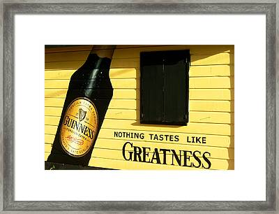 Drake's Bar Framed Print by Barbara Marcus