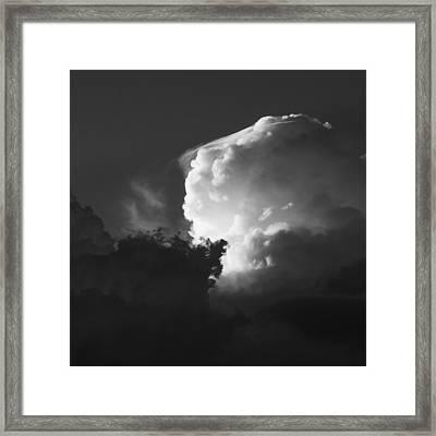 Drama In A Western Sky Framed Print