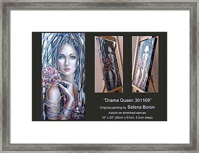 Drama Queen 301109 Framed Print by Selena Boron