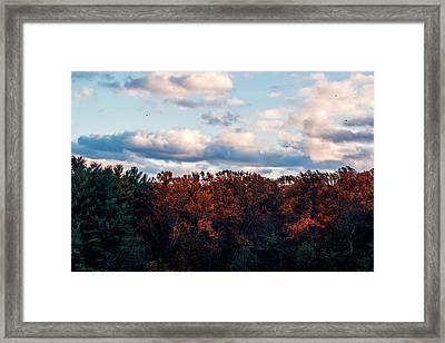 Dramatic Autumn Landscape Framed Print
