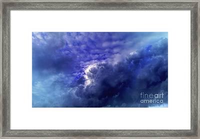 Dramatic Cumulus Sky Framed Print