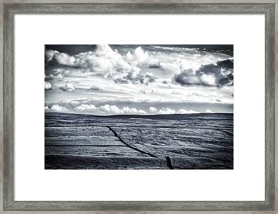 Dramatic Landscape  Framed Print