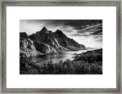 Dramatic Lofoten Framed Print