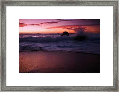 Dramatic Serenity Framed Print by Wayne Stadler