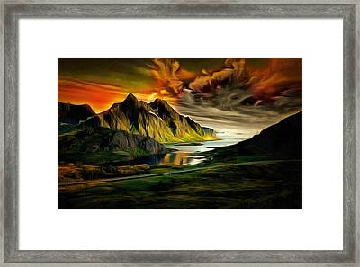 Dramatic Skies Framed Print by Mario Carini
