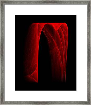 Draping Fall I Framed Print