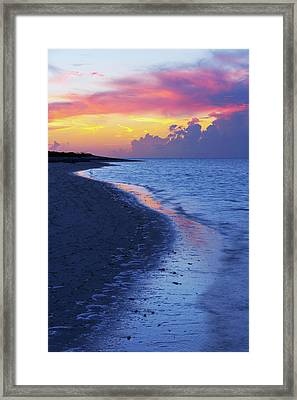 Draw Framed Print by Chad Dutson