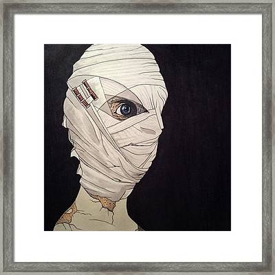 Mummy Monday Framed Print