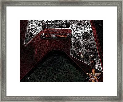 Draxe Framed Print by Roxy Riou