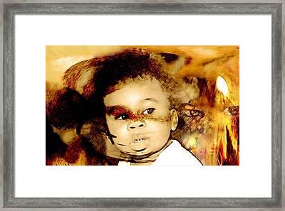 Dread Framed Print by LeeAnn Alexander