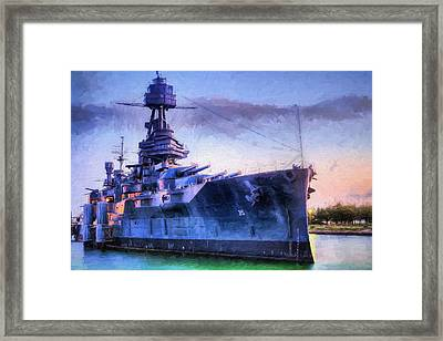 Dreadnought Framed Print by JC Findley
