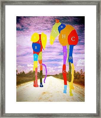 Dream-4 Framed Print by Rudy Umans