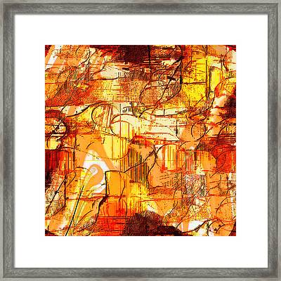 Dream Abstract Framed Print by Ilona Burchard