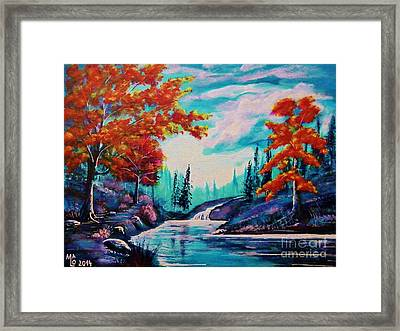 Dream Along The Riverside Framed Print by Mario Lorenz