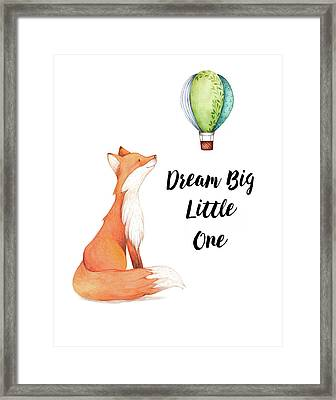 Dream Big Little One Framed Print by Colleen Taylor