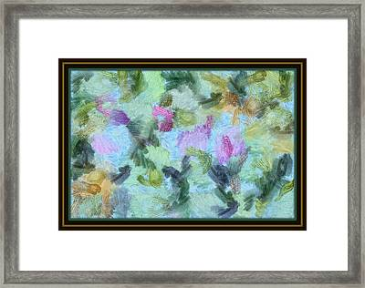 Framed Print featuring the mixed media Dream Bigger by Trish Tritz