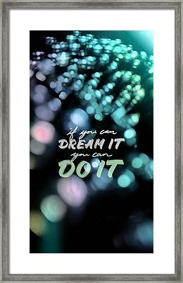 Framed Print featuring the photograph Dream by Bobby Villapando