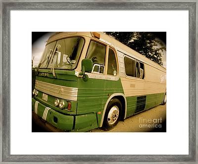 Dream Bus Framed Print by Chuck Taylor