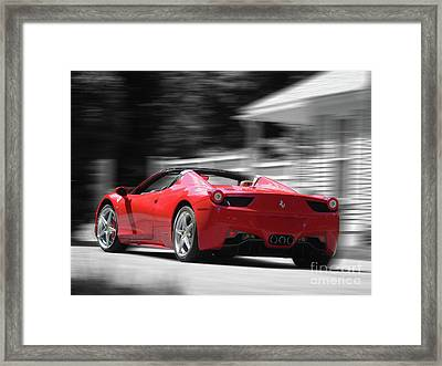 Dream Car Framed Print by Susan Lafleur