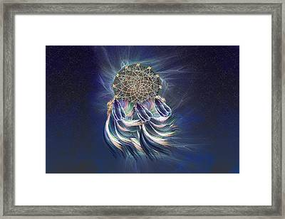Dream Catcher Framed Print by Carol and Mike Werner