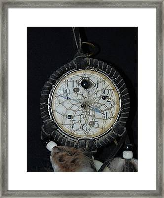 Dream Catcher Time Framed Print by Rob Hans