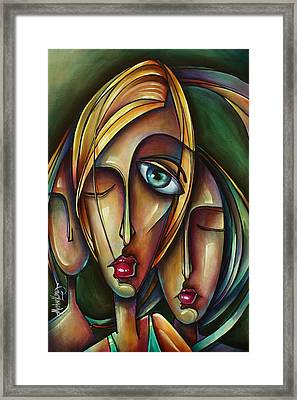 Dream Catchers Framed Print by Michael Lang