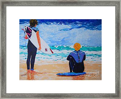 Dream Chasers  Framed Print by Art Mantia