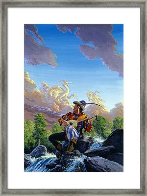 Dream Clouds Framed Print by Richard Hescox