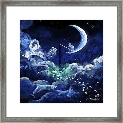 Dream Doctor Framed Print by Devika Indriani