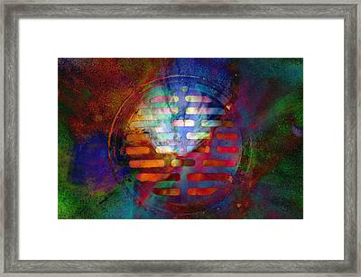 Dream Drain Framed Print by John Ricker