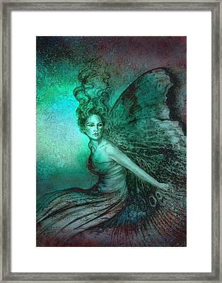 Dream Fairy Framed Print by Ragen Mendenhall