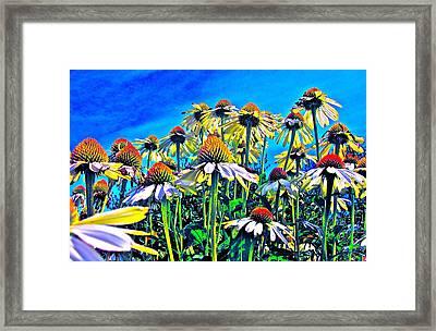 Dream Field Framed Print by Gwyn Newcombe