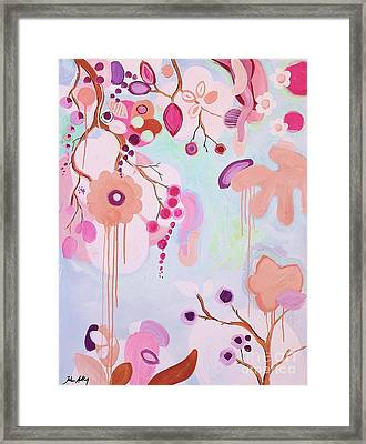 Dream Flowers Framed Print by Jolina Anthony