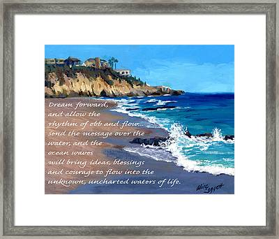 Dream Forward Framed Print