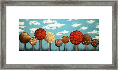 Dream Grove Framed Print by Graciela Bello