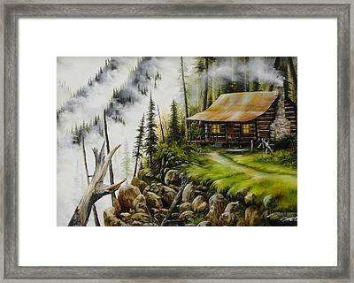Dream Home Framed Print by David Paul
