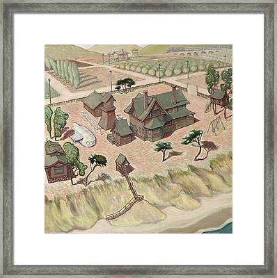 Dream House Framed Print