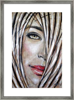 Dream In Amber 120809 Framed Print by Selena Boron