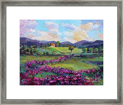 Framed Print featuring the painting Dream In Color by Jennifer Beaudet