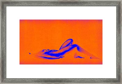 Dream In Orange Framed Print by Bob Orsillo
