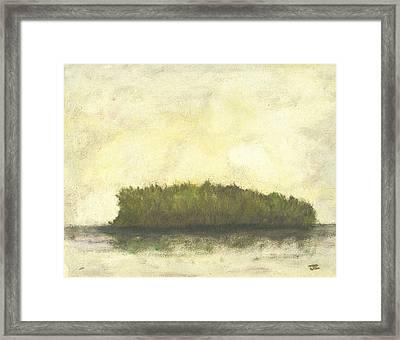 Dream Island I Framed Print