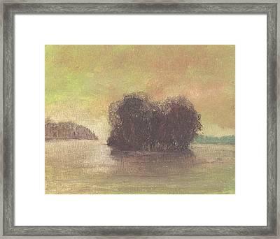 Dream Island Iv Framed Print