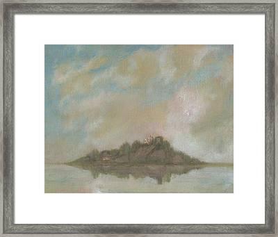Dream Island V Framed Print