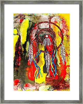 Dream Journey Framed Print by David Raderstorf