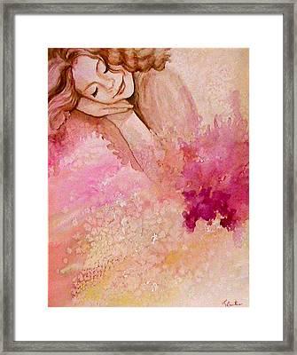 Dream Framed Print by L Lauter