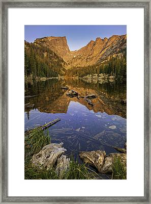 Dream Lake Moments Framed Print