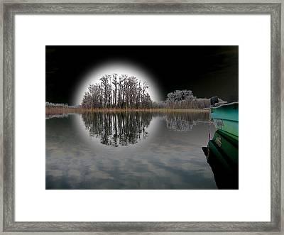 Dream Lake Framed Print by Rick McKinney