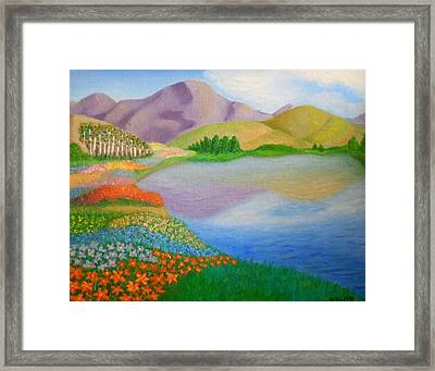 Dream Land Framed Print by Sheri Keith